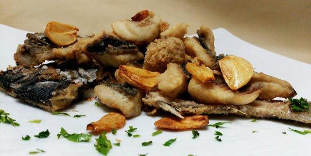 Chopa frita a la andaluza